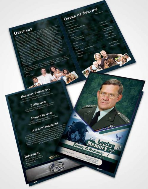 Bifold Order Of Service Obituary Template Brochure 1st Air Force Airman Desire.jpg