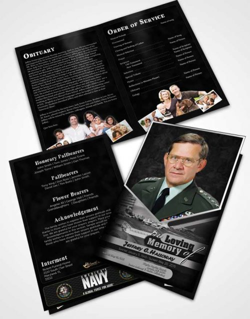Bifold Order Of Service Obituary Template Brochure 1st Navy Sailor Freedom.jpg