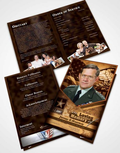Bifold Order Of Service Obituary Template Brochure 2nd Army Soldier Love.jpg