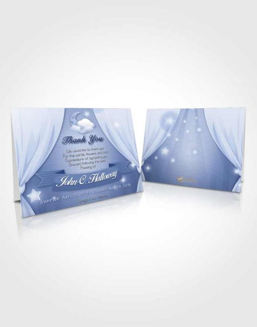 Funeral Thank You Card Template Misty Childrens Innocence