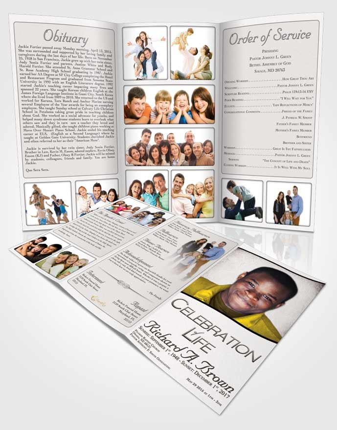 Funeral Program Templates  Editable Word Templates  Funeralparlour
