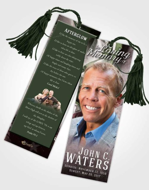 Funeral Bookmark Template Morning Stars and Stripes.jpg
