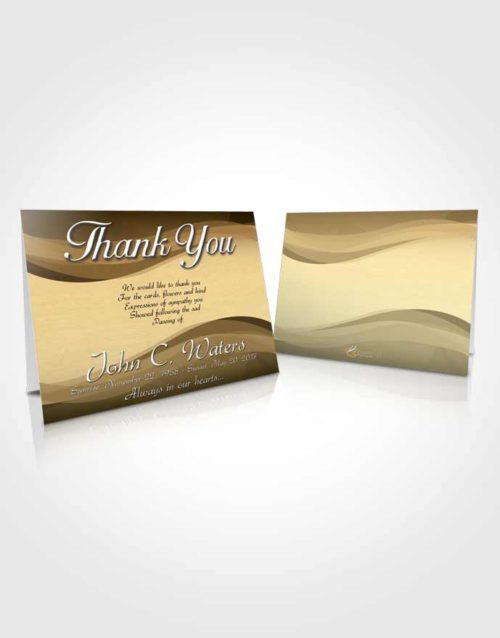 Funeral Thank You Card Template Pacific Fortitude