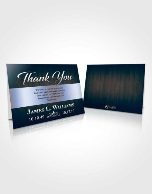 Funeral Thank You Card Template Splendid Force