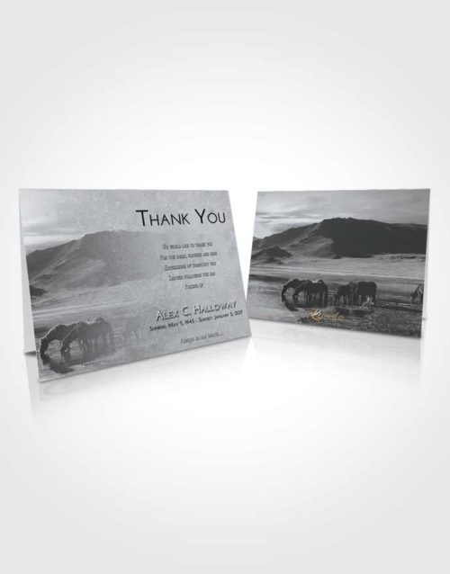Funeral Thank You Card Template Freedom Watering Hole