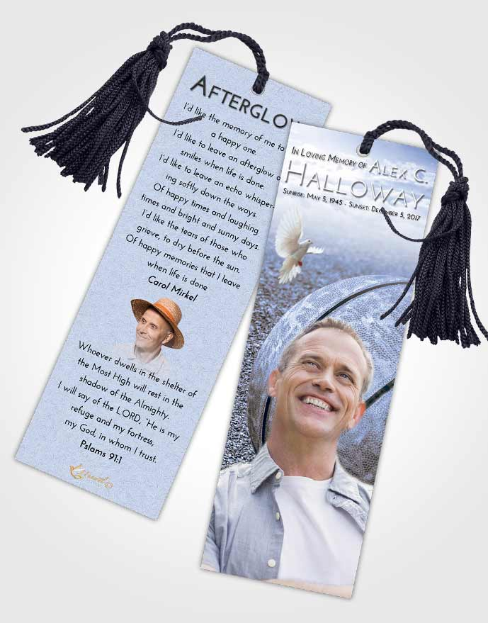 Funeral Bookmark Template Splendid Basketball Love