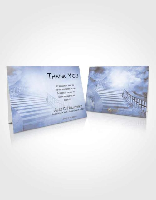 Funeral Thank You Card Template Splendid Stairway to Freedom