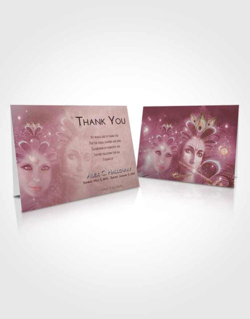 Funeral Thank You Card Template Strawberry Love Hindu Desire