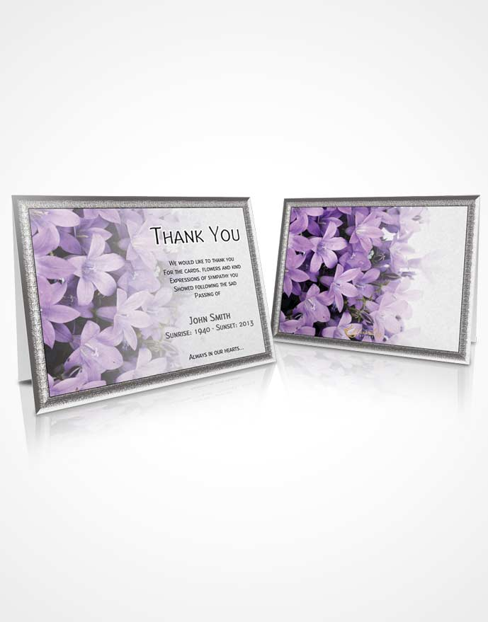 Thank You Card Floral 08
