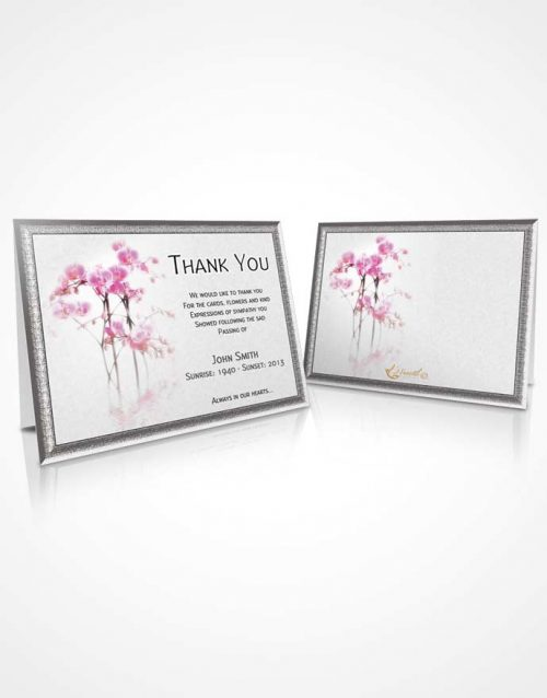 Thank You Card Floral 13