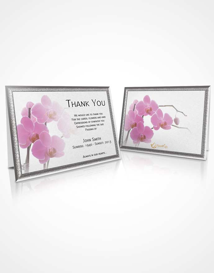 Thank You Card Floral 14