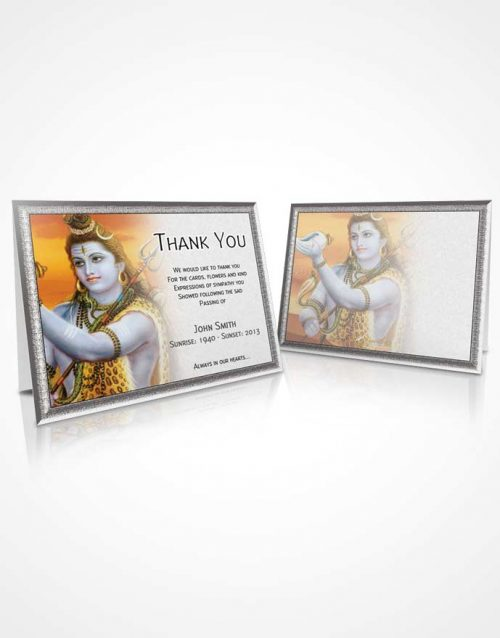 Thank You Card Hinduism 08