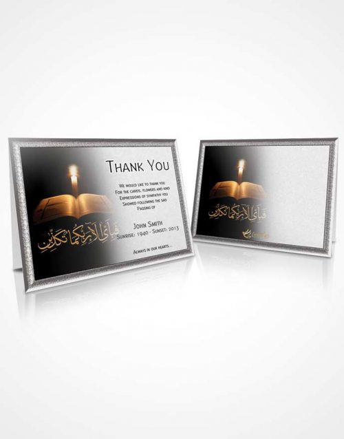 Thank You Card Islam 09